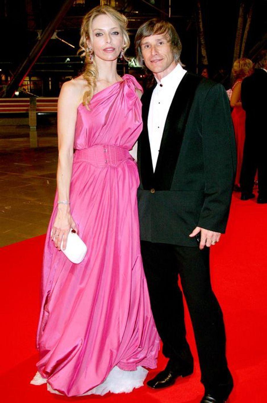 Tonya Kinzinger et son époux, Bernard, au Festival de Monte Carlo en 2009