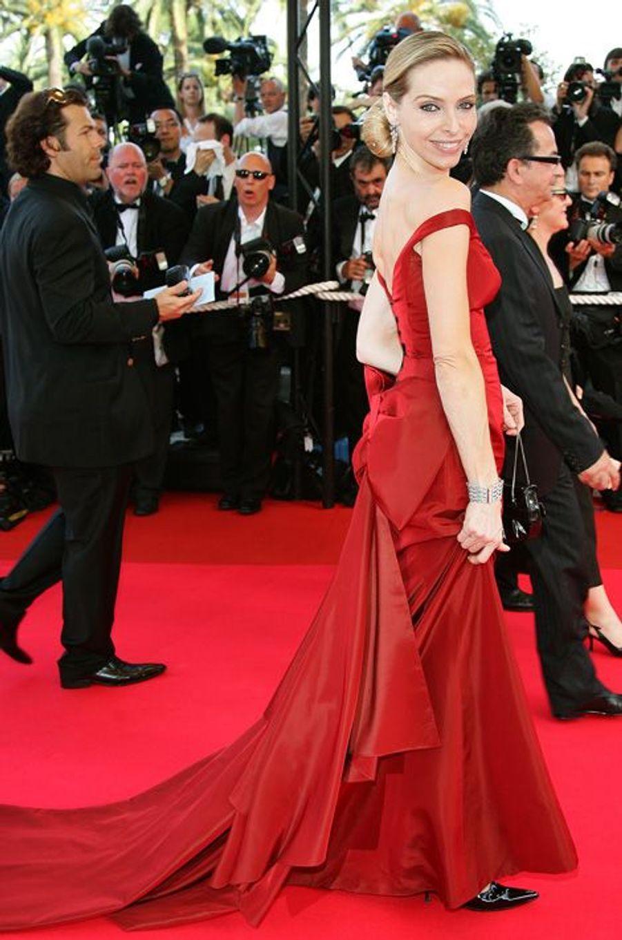 Tonya Kinzinger lors du 60e Festival de Cannes en 2007