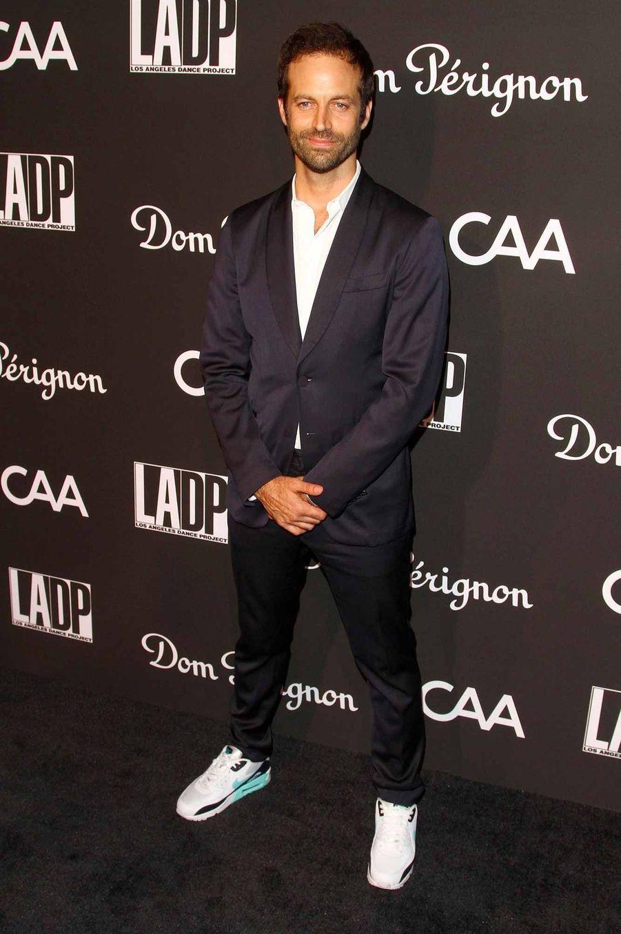 Benjamin Millepied, lors du gala du L.A. Dance Project,au musée Hauser & Wirthde Los Angeles.