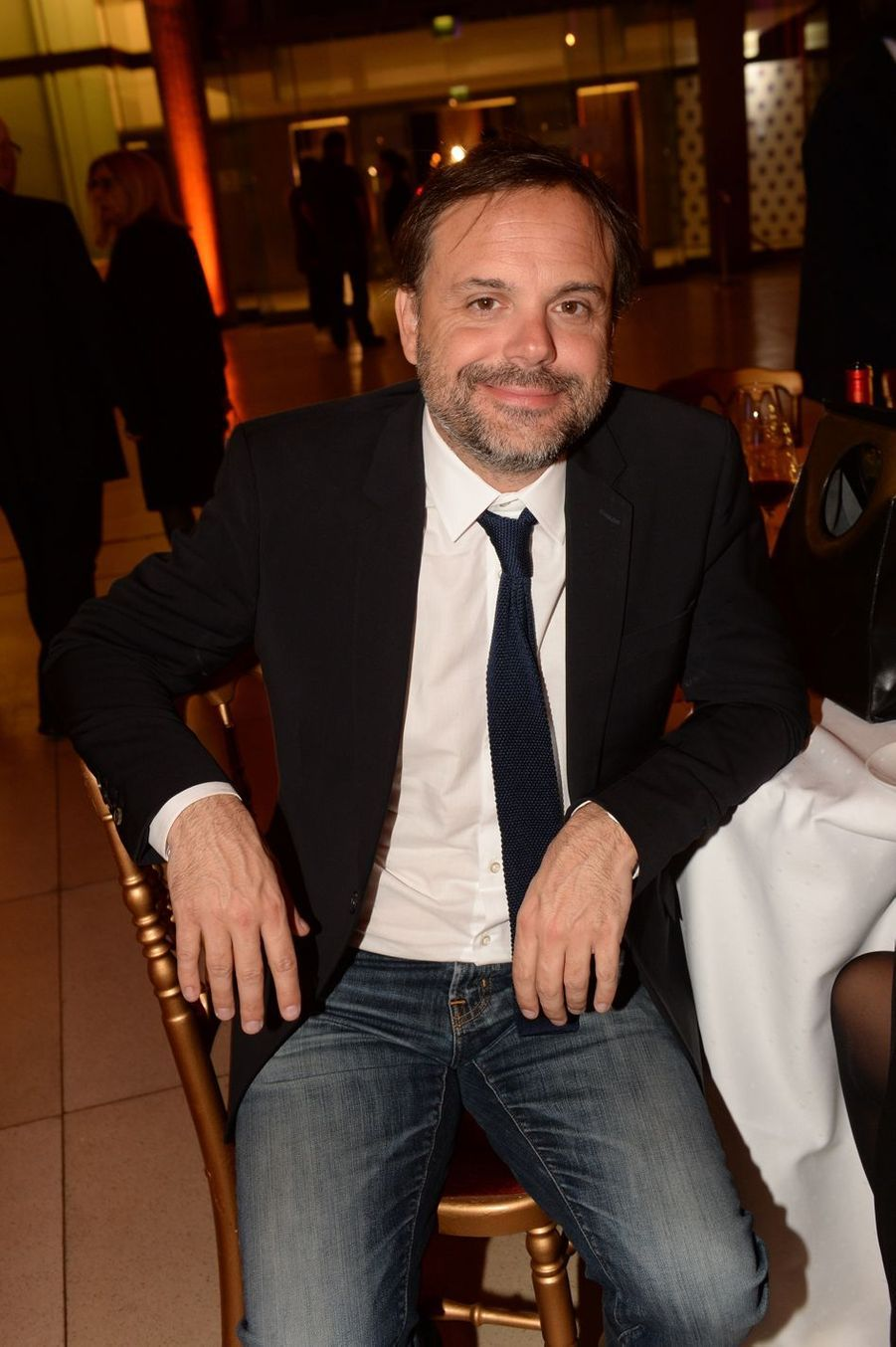 """Romain Sardouà la 9ème édition du gala de l'association """"Sauveteurs Sans Frontières"""" au palais d'Iéna à Paris le 25 mars 2019"""