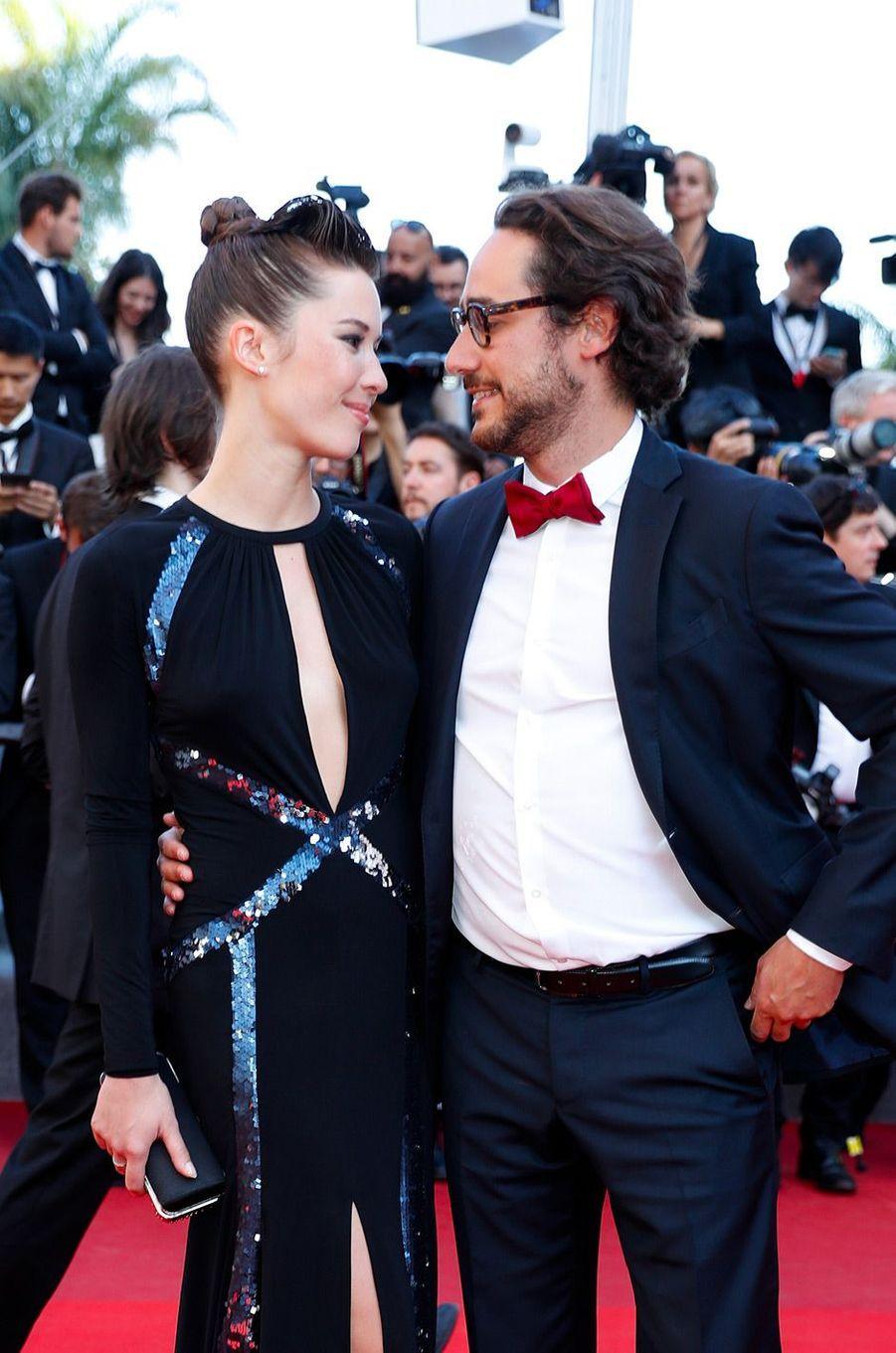 Thomas Hollande et Emilie Broussouloux, le 28 mai 2017