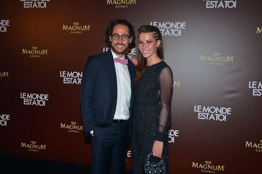 Thomas Hollande et Emilie Broussouloux, le 12 mai 2018