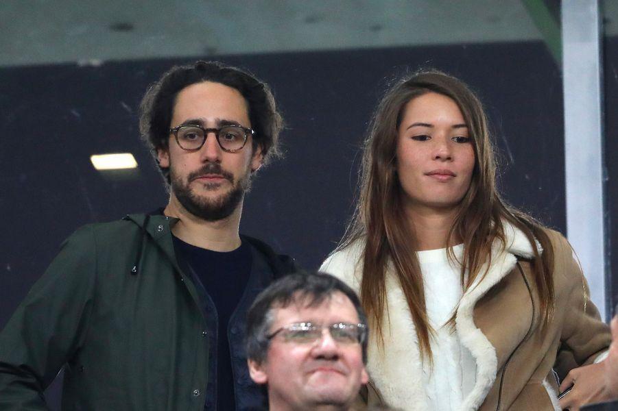 Thomas Hollande et Emilie Broussouloux, le 11 novembre 2017