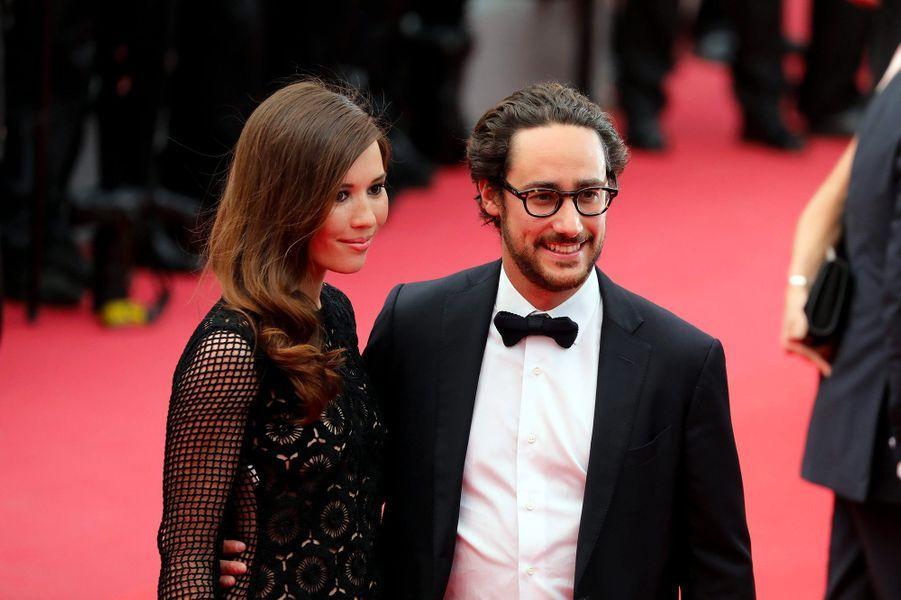 Thomas Hollande et Emilie Broussouloux, le 26 mai 2017