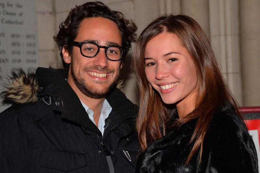 Thomas Hollande et Emilie Broussouloux, le 7 novembre 2016