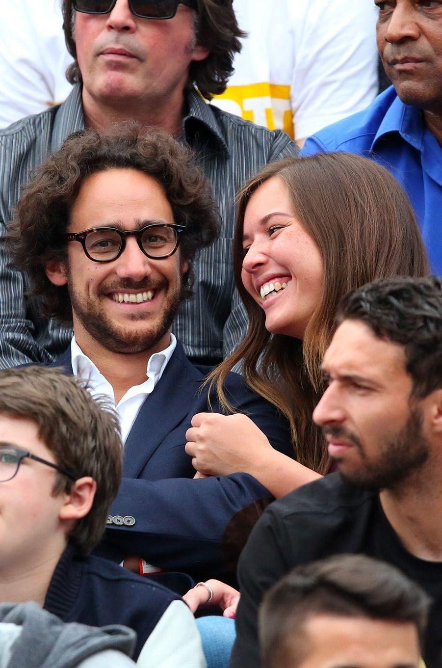 Thomas Hollande et Emilie Broussouloux, le 28 mai 2016