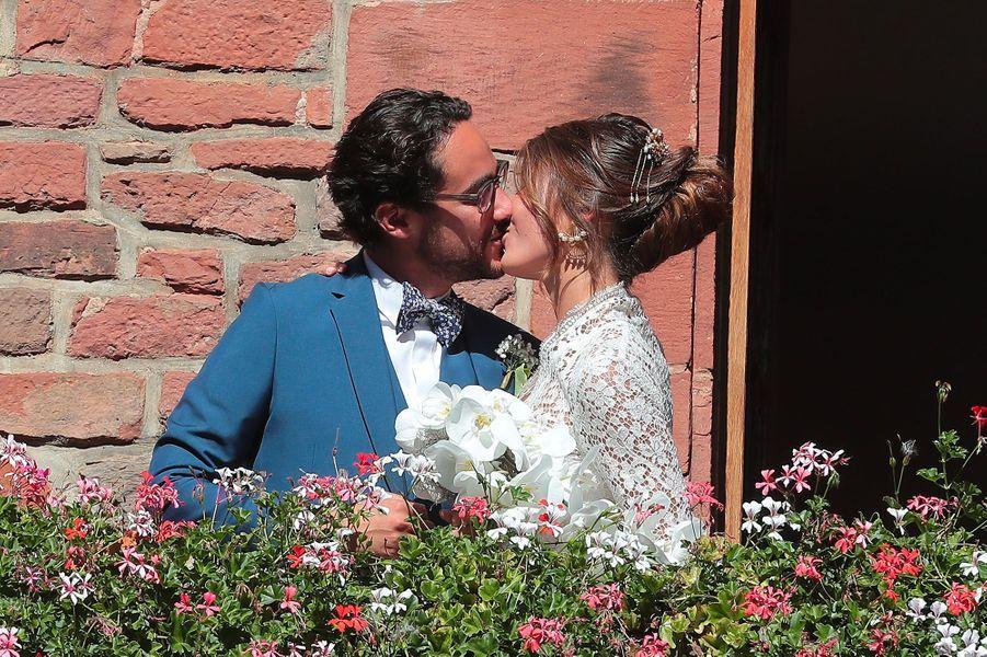 Le mariage de Thomas Hollande et Emilie Broussouloux en Corrèze, samedi 8 septembre