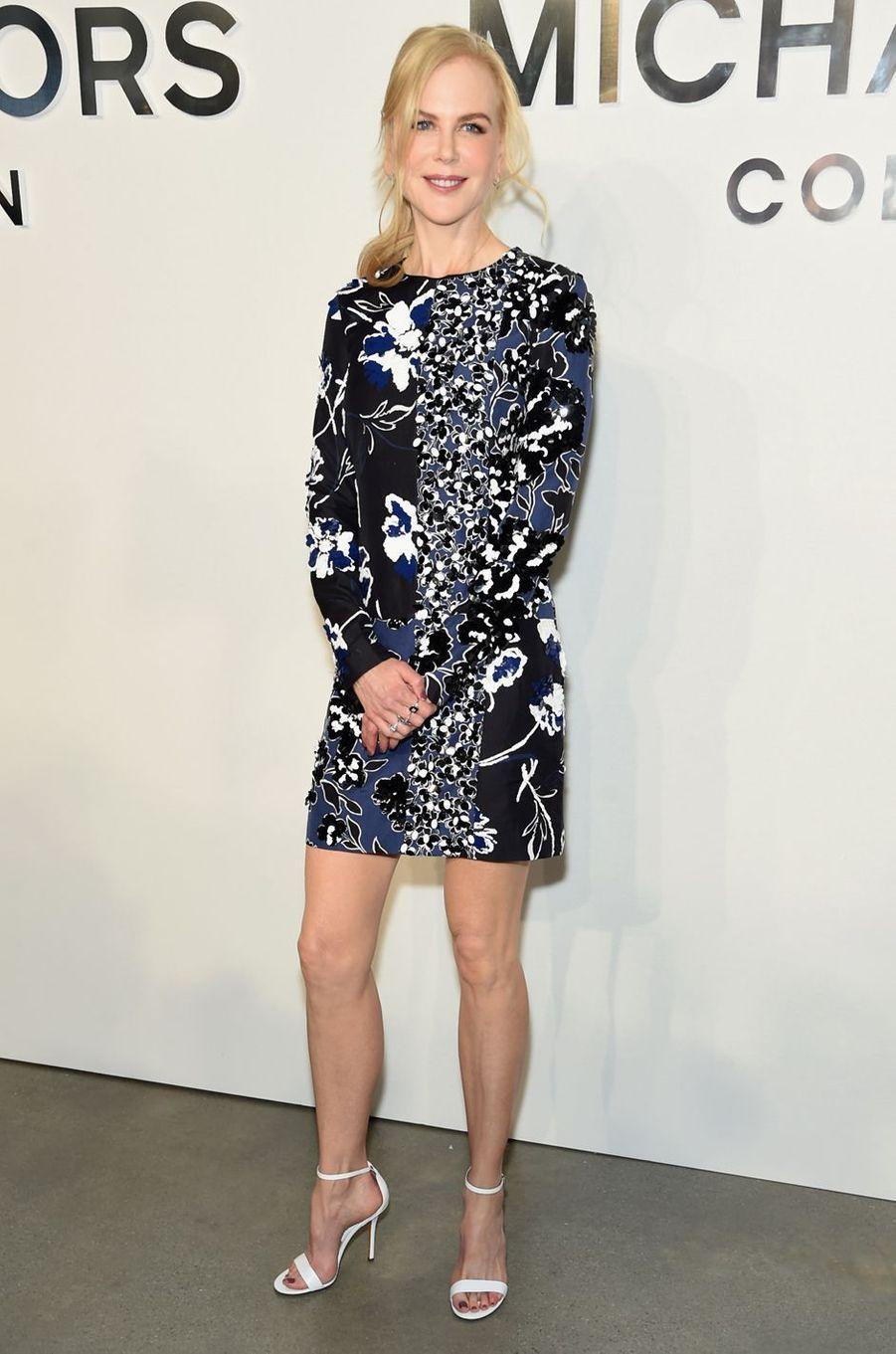 Nicole Kidmanau défilé Michael Kros à la Fashion Week de New York, le 13 septembre 2017.