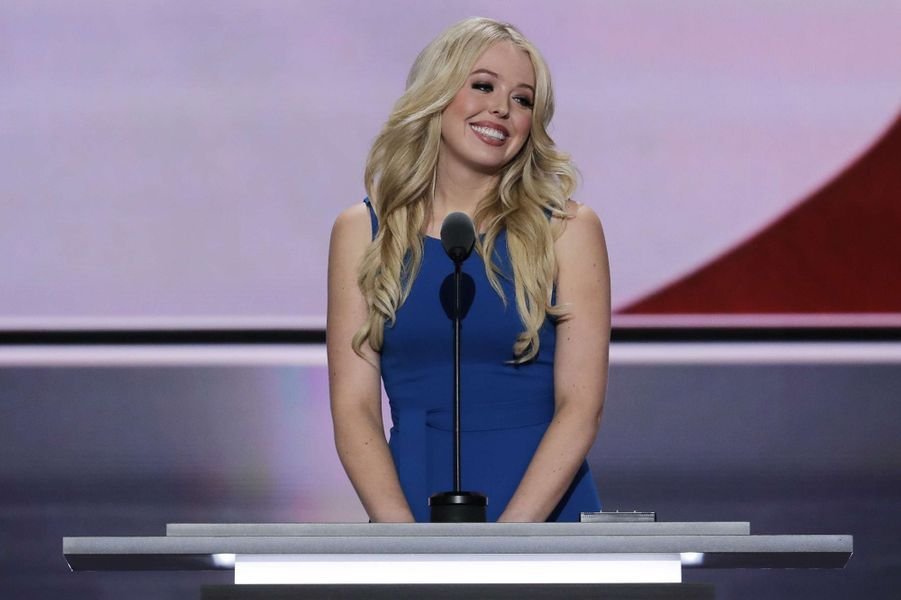 Tiffany Trump lors de la convention républicaine de Cleveland.