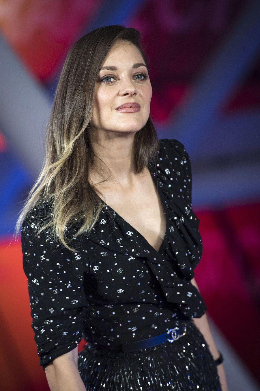 Marion Cotillard,à l'ouverture du festival international du film deMarrakech, le 29 novembre 2019.