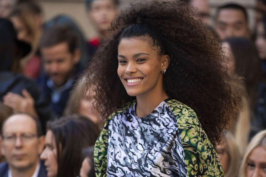 Tina Kunakey au défilé L'Oréal samedi