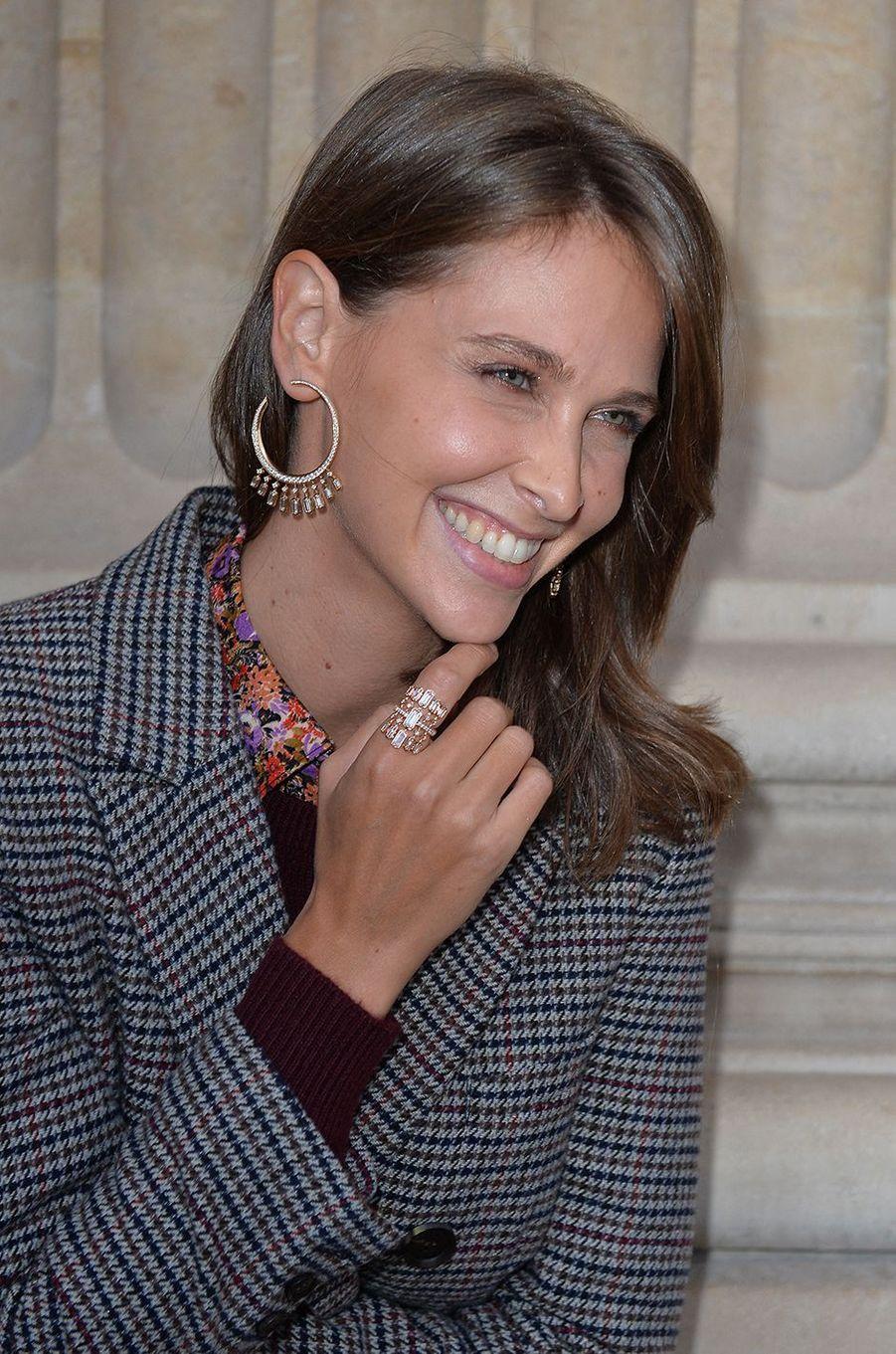 Ophélie Meunierà l'hôtel de Crillon à Paris le 5 octobre 2020