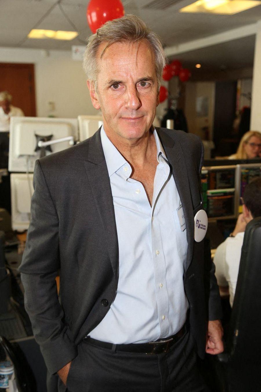 Bernard de La Villardièrelors de la 15e édition du Charity Day organisé par Aurel BGC en mémoire des victimes du 11 septembre 2001, à Paris le 11 septembre 2019