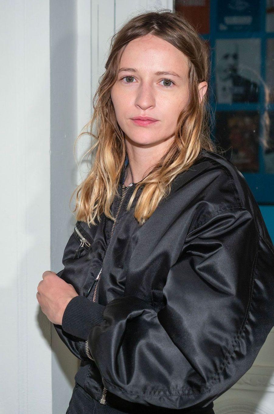 Christa Theret au défilé Mugler, à Paris le 26 septembre 2018