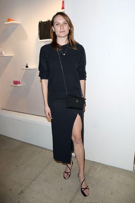Ana Girardotau défilé Jacquemus lors de la Fashion Week de Paris le 26 février 2019