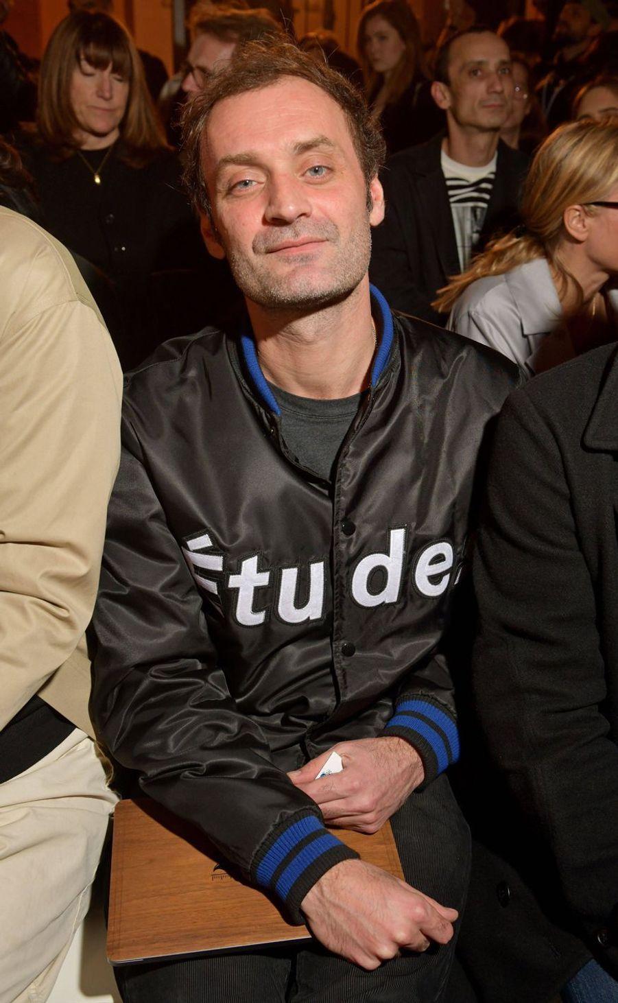Augustin Trapenardau défilé Jacquemus lors de la Fashion Week de Paris le 26 février 2019
