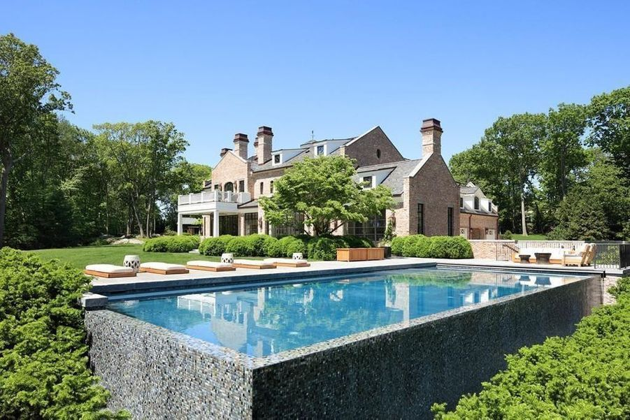 La villa deTom Brady et Gisele Bündchen dans leMassachusetts.