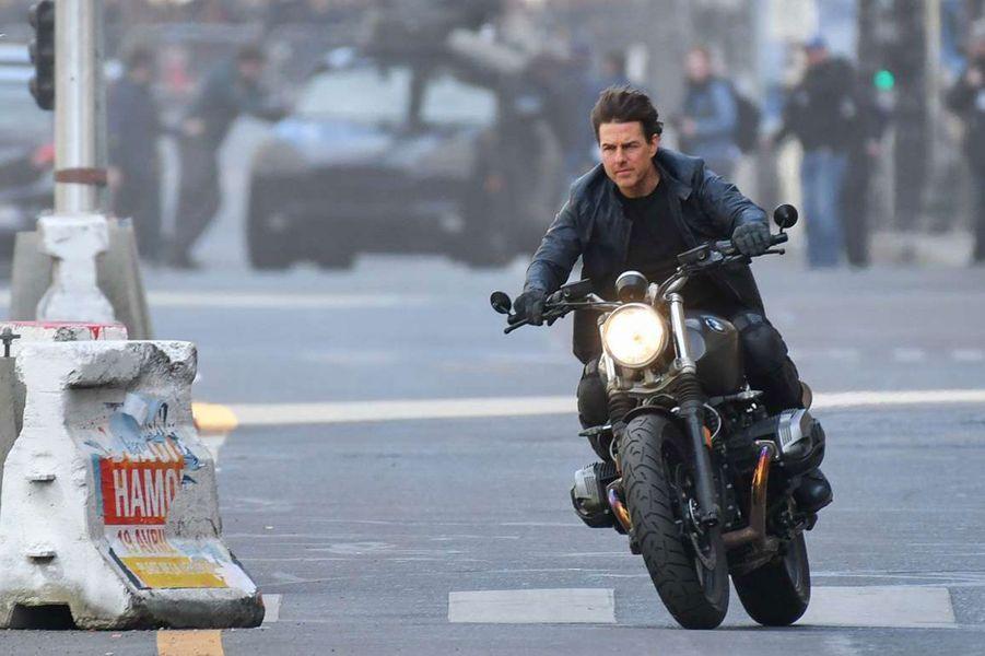 """Tom Cruise sur le tournage de """"Mission Impossible : 6"""""""