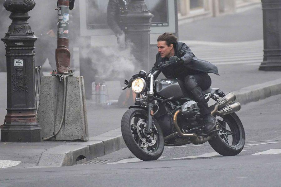 Tom Cruise à Paris.