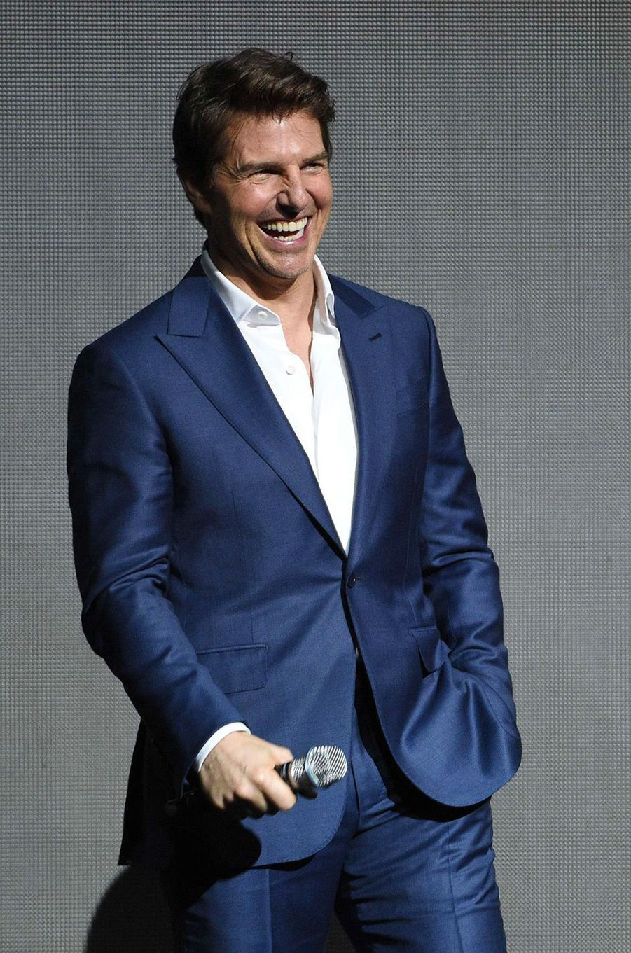 Tom Cruise au CinemaCon à Las Vegas