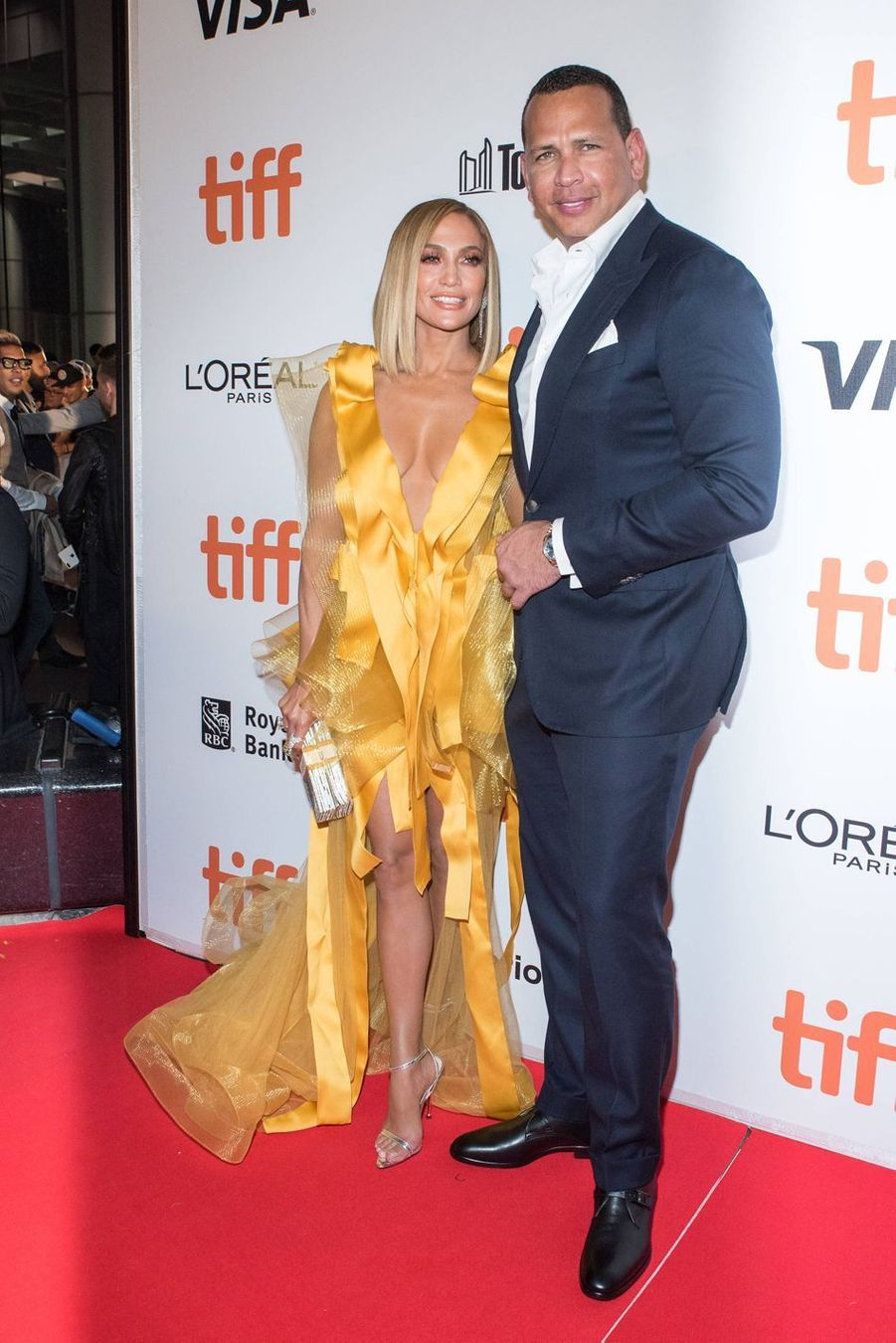Jennifer Lopez et son mari auFestival du film de Toronto