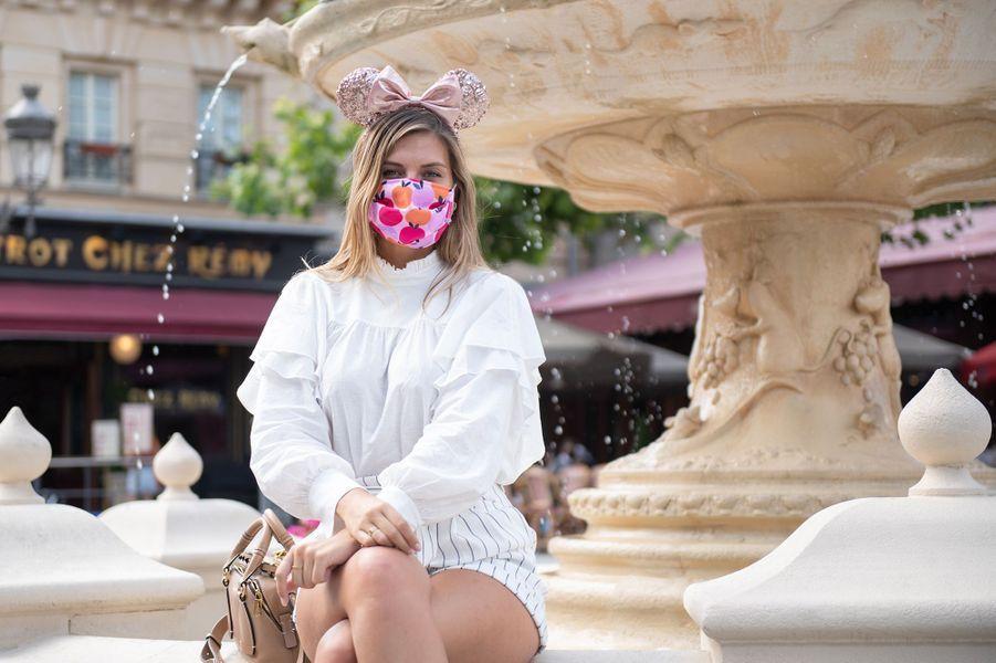 Camille Cerfen visite à Disneyland Paris