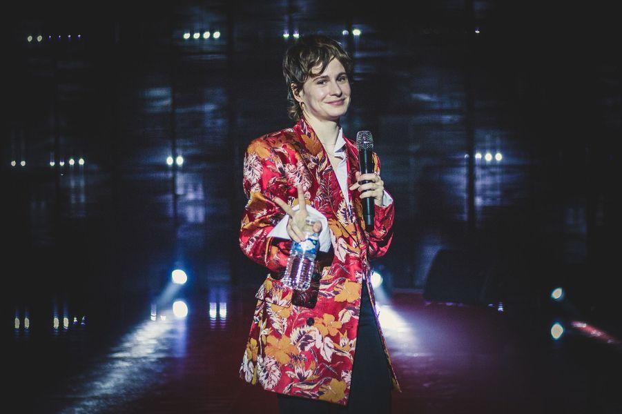 """Christine and the Queensavant le direct de l'émission """"Tous ensemble pour la musique"""" pour la Fête de la musique 2020 à l'AccorHotels Arena à Paris le 19 juin 2020"""