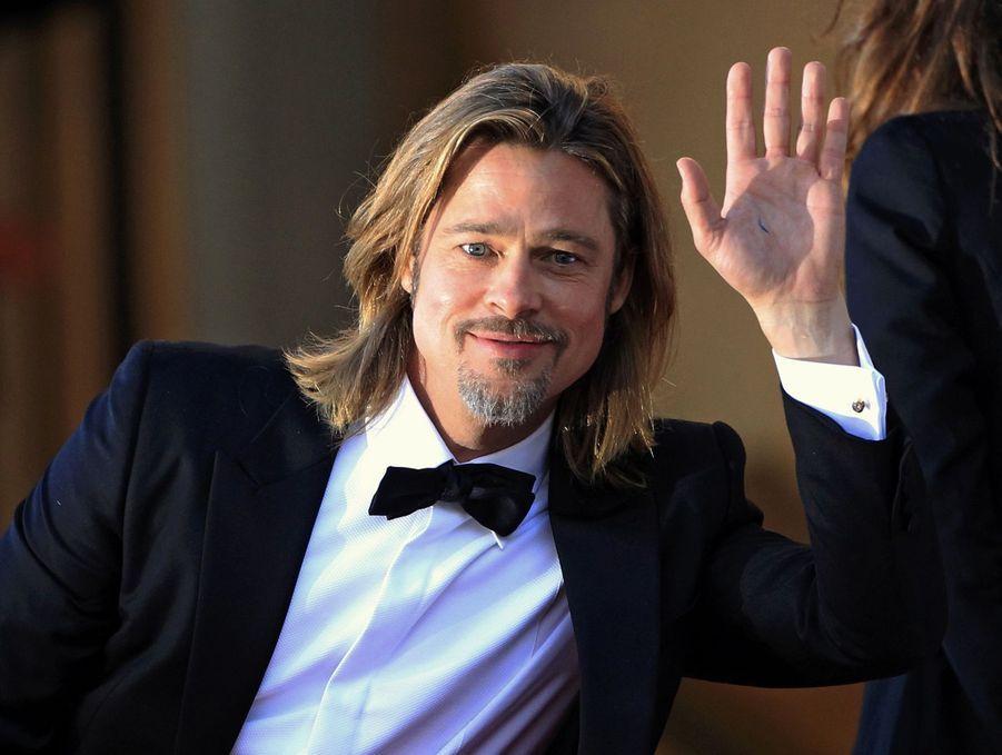 Brad Pittlors de la montée des marches du film «Killing Them Softly» au Festival de Cannes le 22 mai 2012