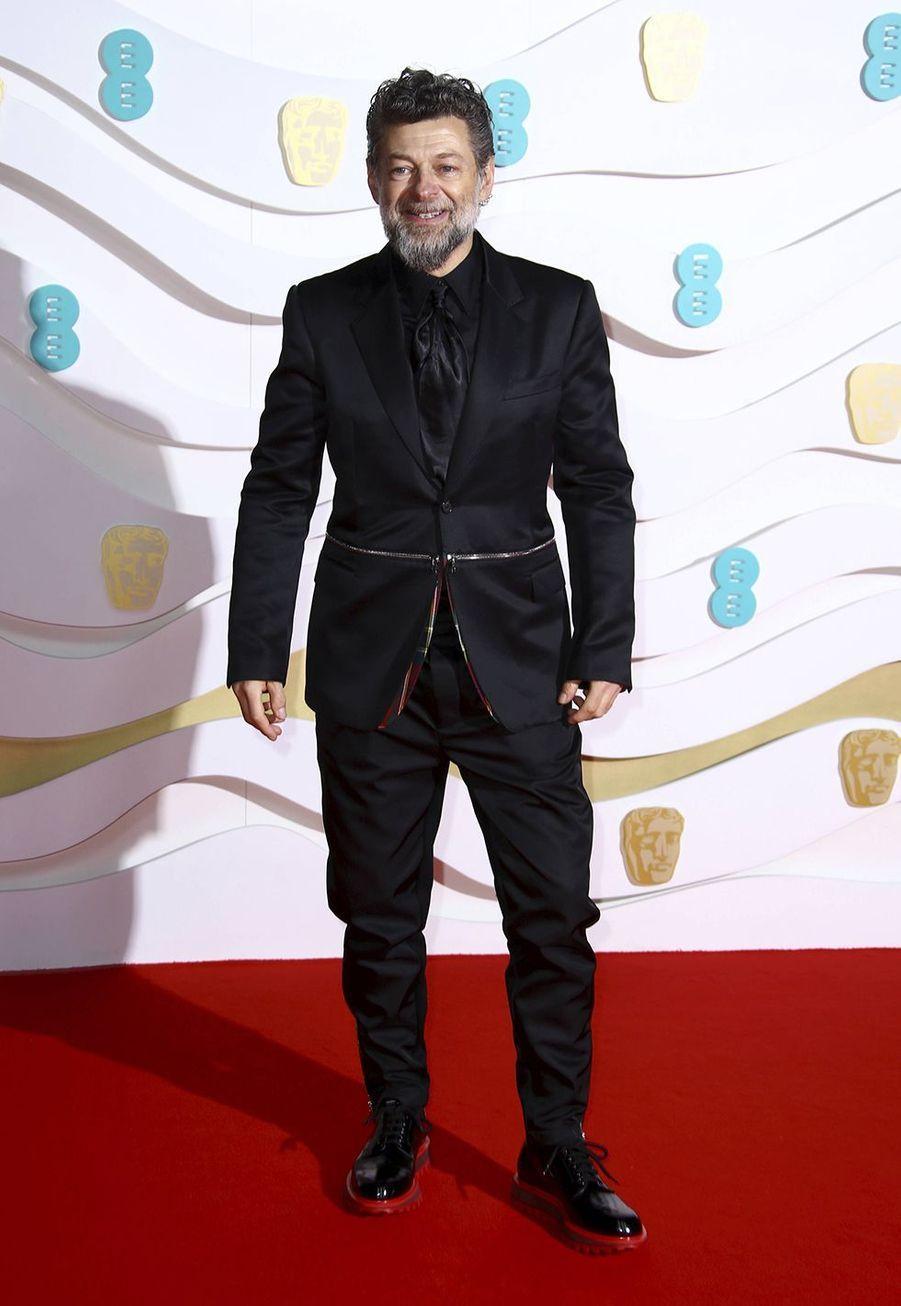 Andy Serkisà la73e cérémonie des British Academy Film Awards à Londres le 2 février 2020