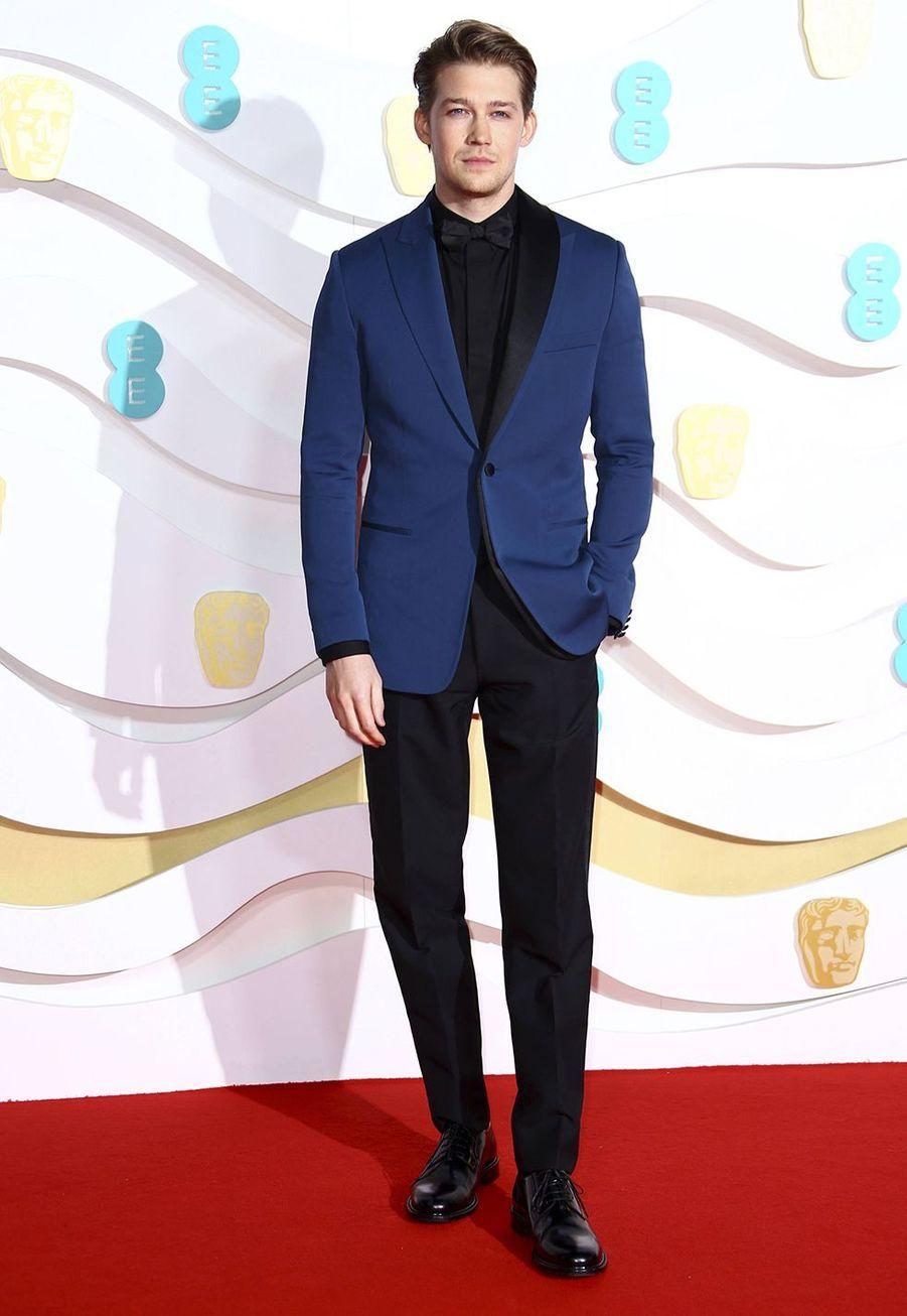 Joe Alwynà la73e cérémonie des British Academy Film Awards à Londres le 2 février 2020