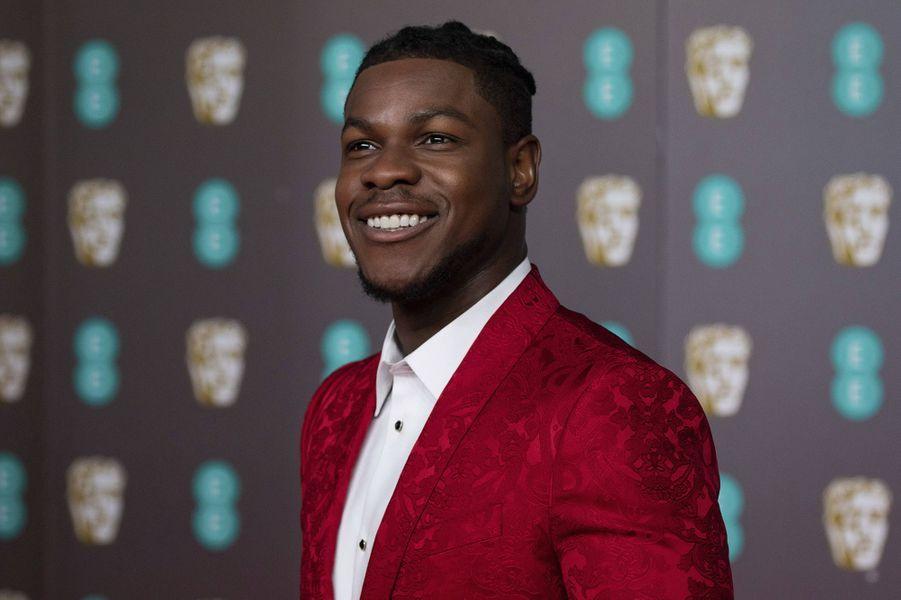John Boyegaà la73e cérémonie des British Academy Film Awards à Londres le 2 février 2020