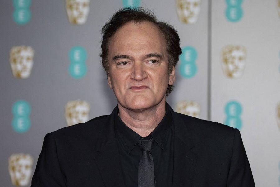 Quentin Tarantinoà la73e cérémonie des British Academy Film Awards à Londres le 2 février 2020