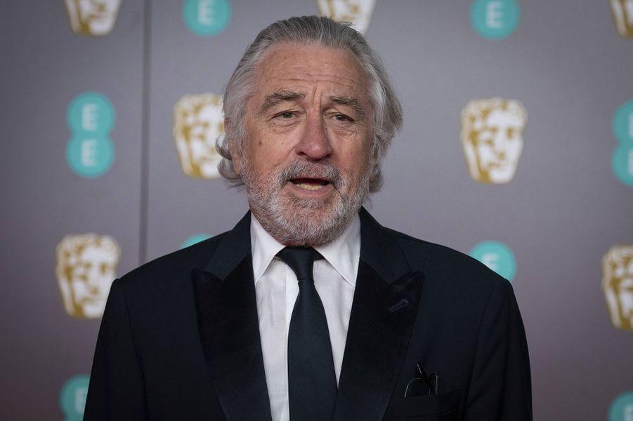Robert de Niroà la73e cérémonie des British Academy Film Awards à Londres le 2 février 2020