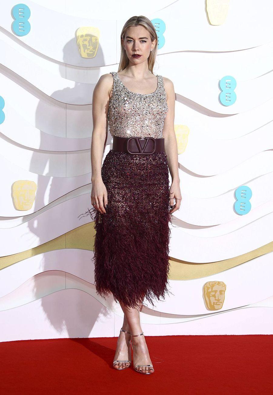 Vanessa Kirby (en Valentino)à la73e cérémonie des British Academy Film Awards à Londres le 2 février 2020