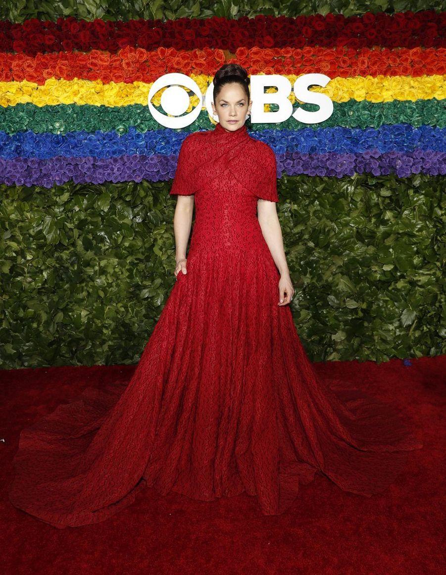 Ruth Wilsonà la 73e cérémonie des Tony Awards le 9 juin 2019 à New York