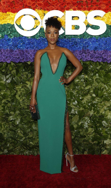 Samira Wileyà la 73e cérémonie des Tony Awards le 9 juin 2019 à New York