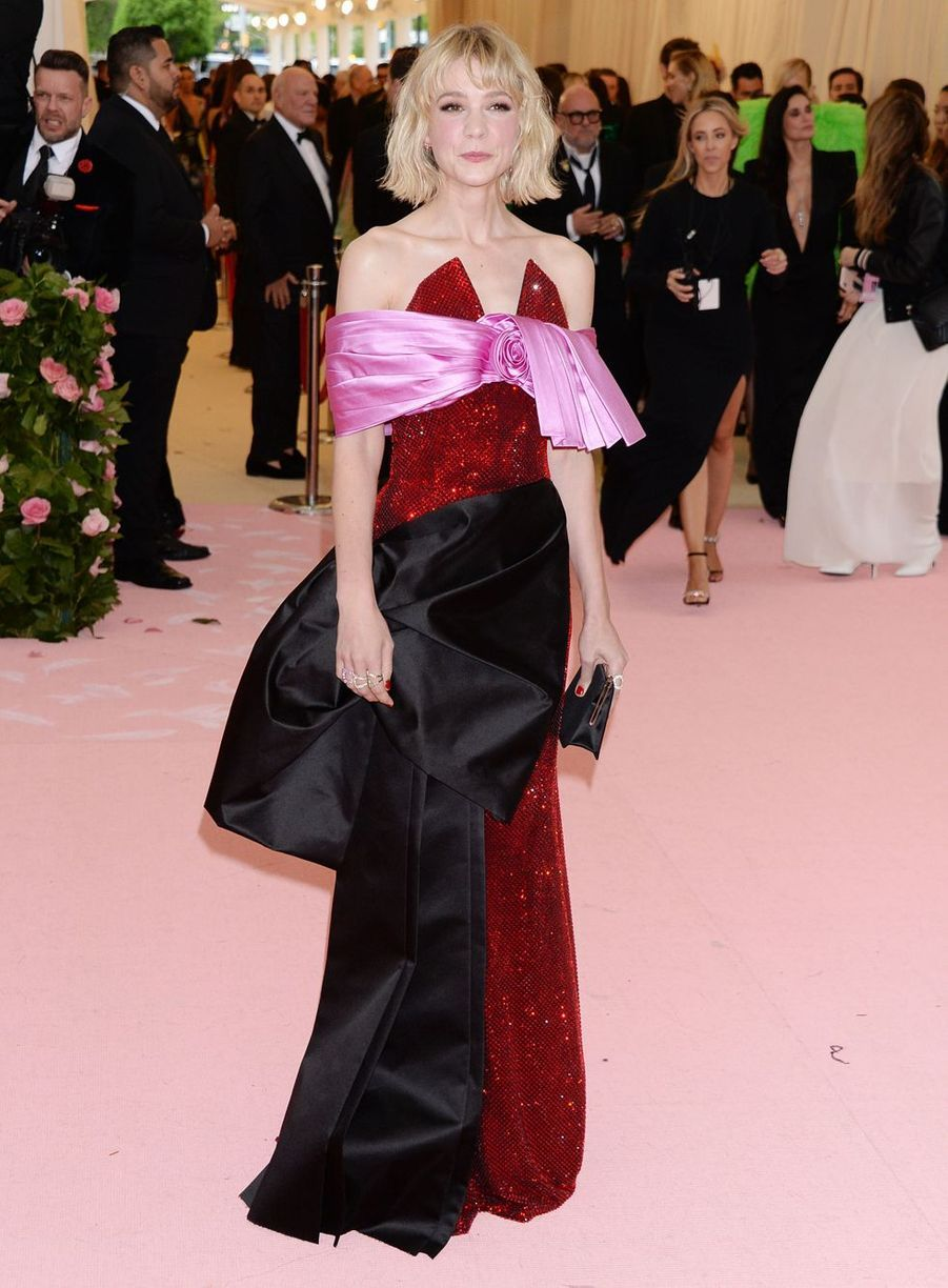 Carey Mulligan au MET Gala à New York le 6 mai 2019