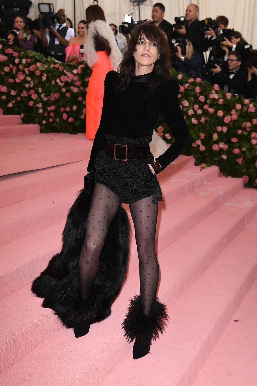 Charlotte Gainsbourgau MET Gala à New York le 6 mai 2019