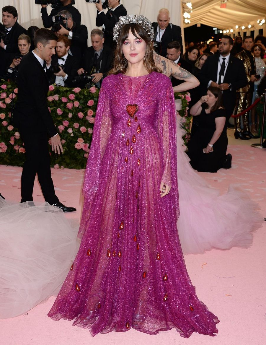 Dakota Johnson au MET Gala à New York le 6 mai 2019