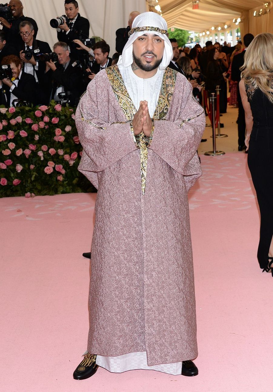 French Montana au MET Gala à New York le 6 mai 2019