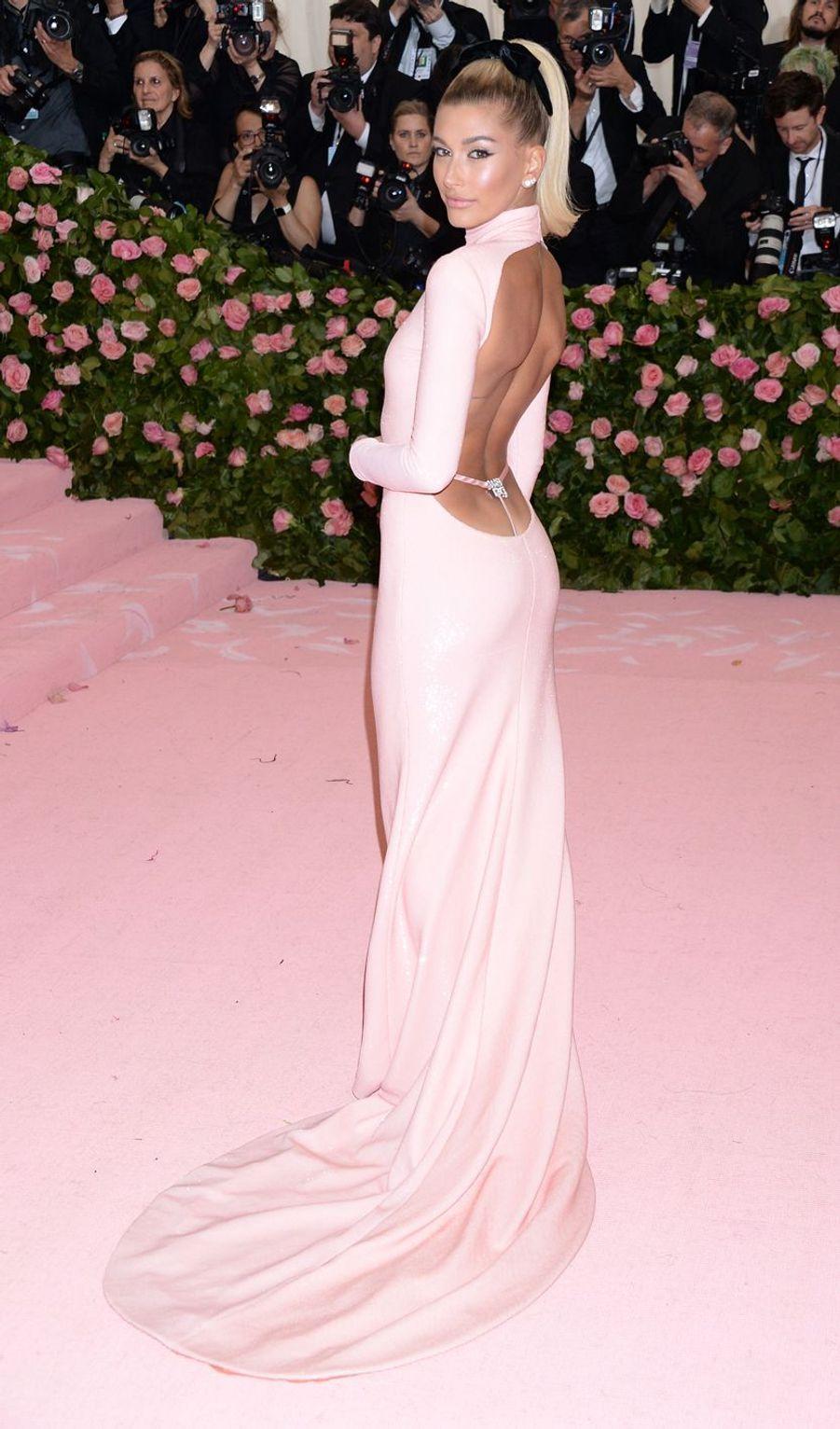 Hailey Bieberau MET Gala à New York le 6 mai 2019