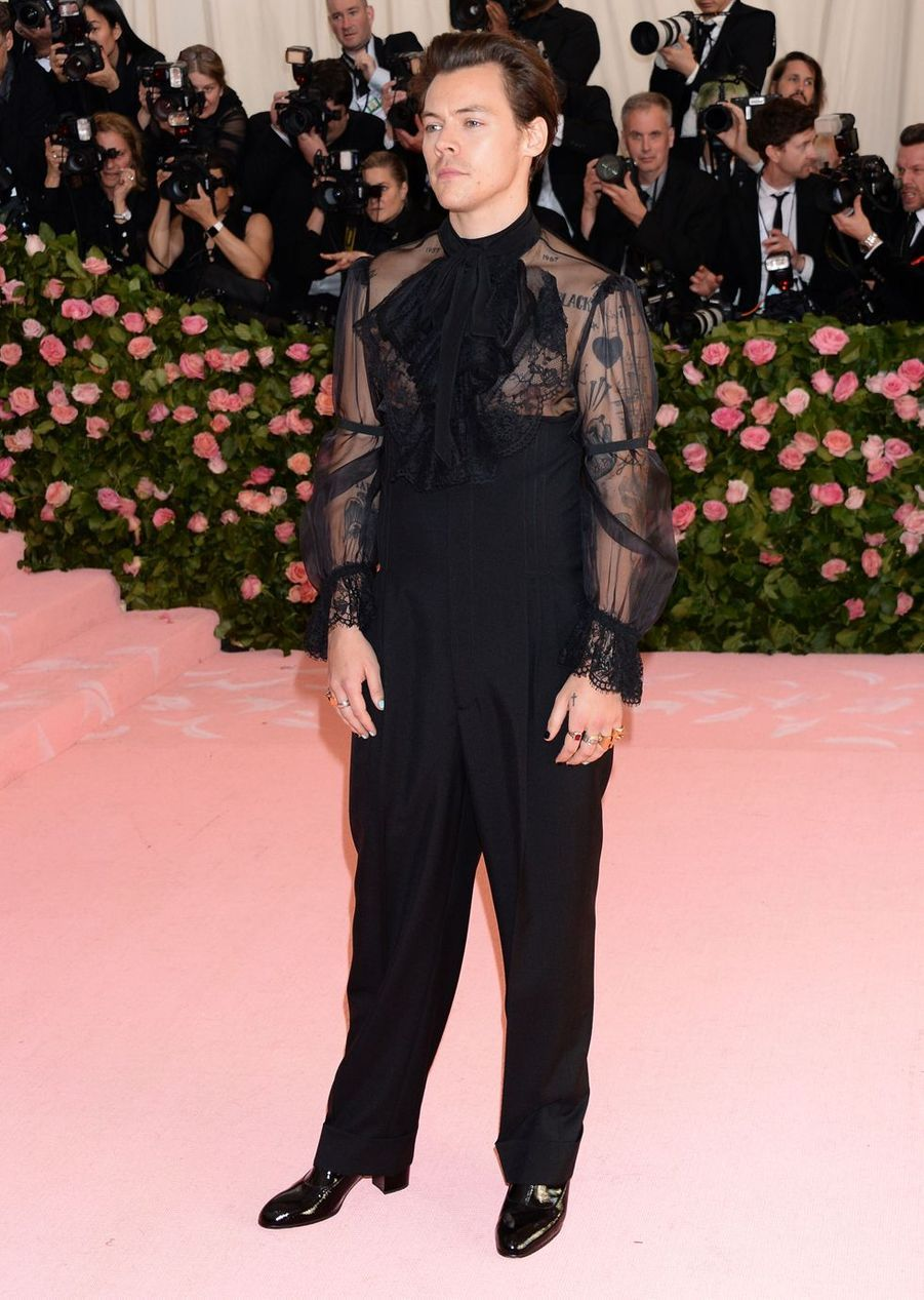 Harry Styles au MET Gala à New York le 6 mai 2019
