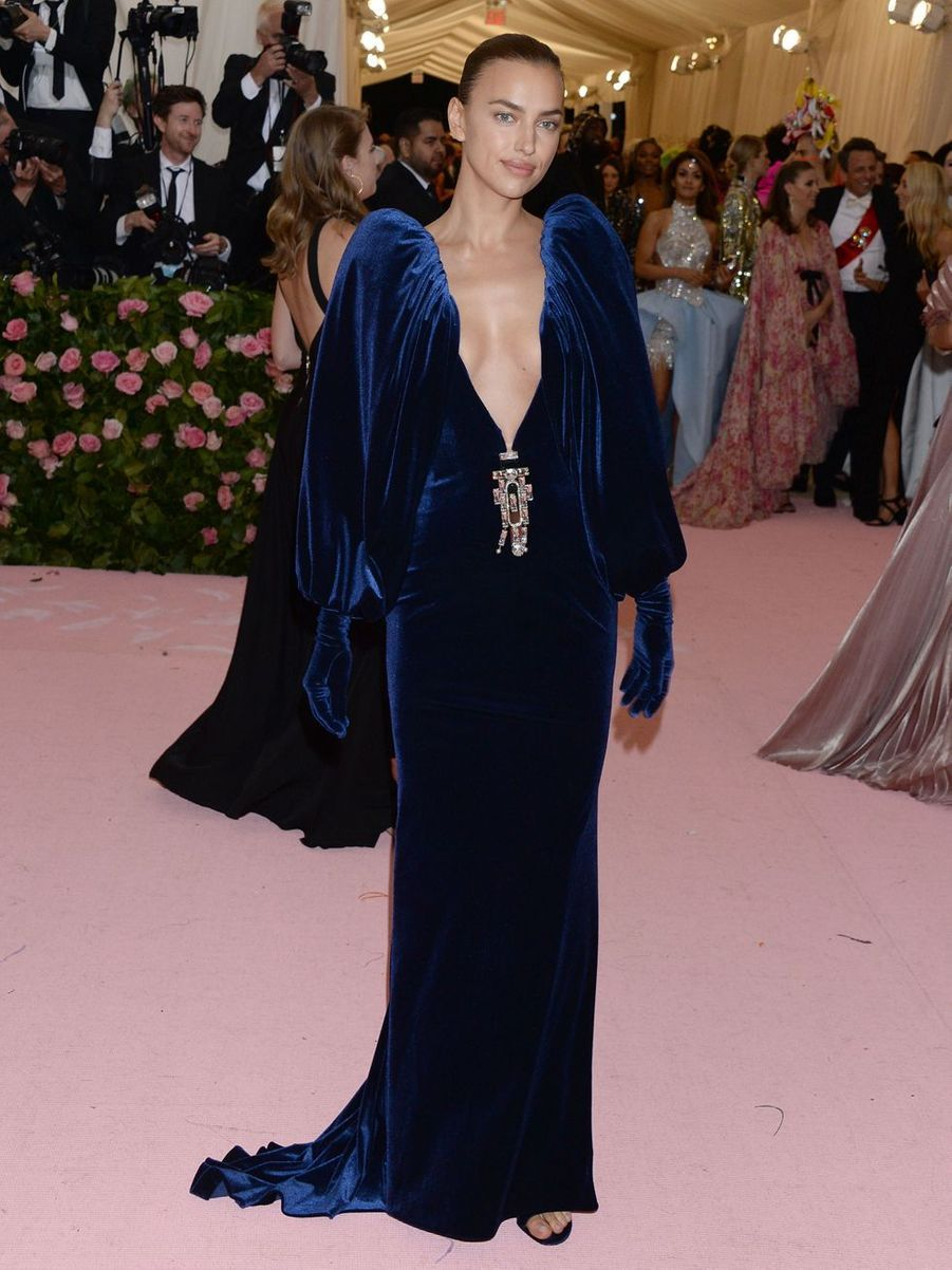 Irina Shaykau MET Gala à New York le 6 mai 2019