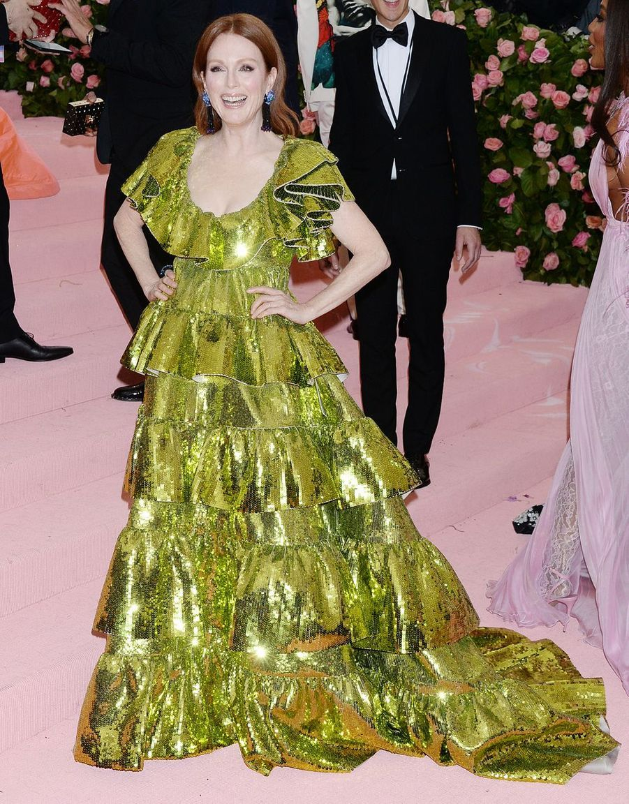 Julianne Moore au MET Gala à New York le 6 mai 2019