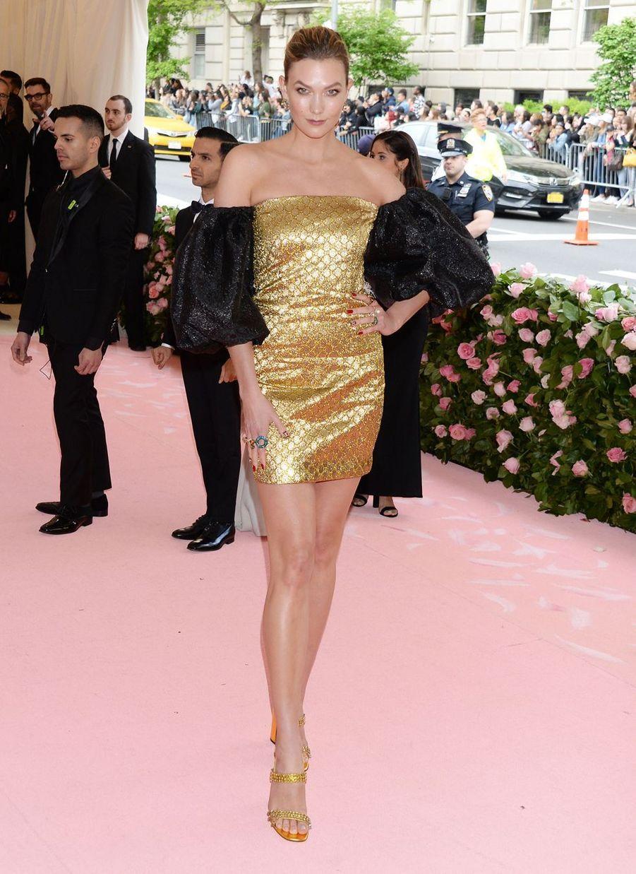 Karlie Klossau MET Gala à New York le 6 mai 2019