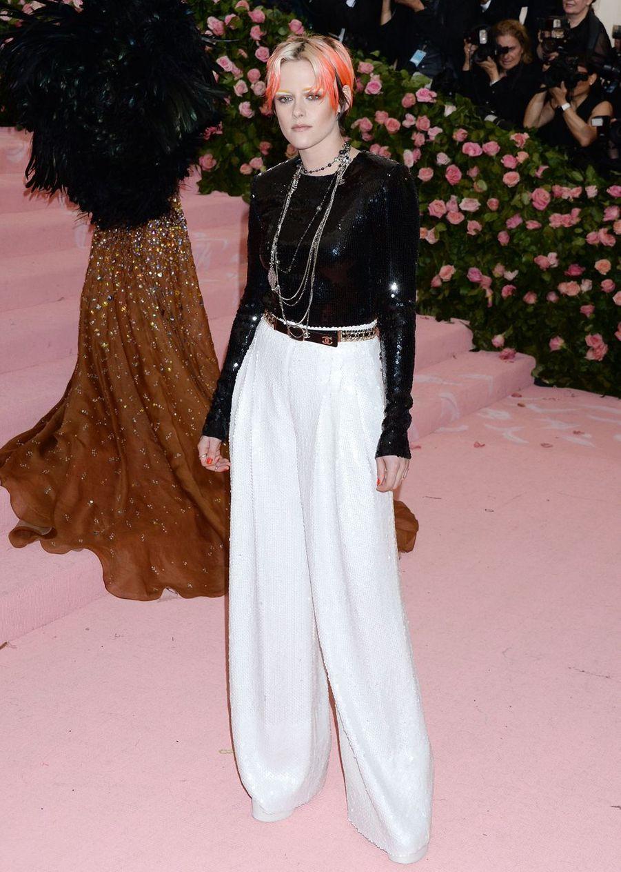 Kristen Stewartau MET Gala à New York le 6 mai 2019