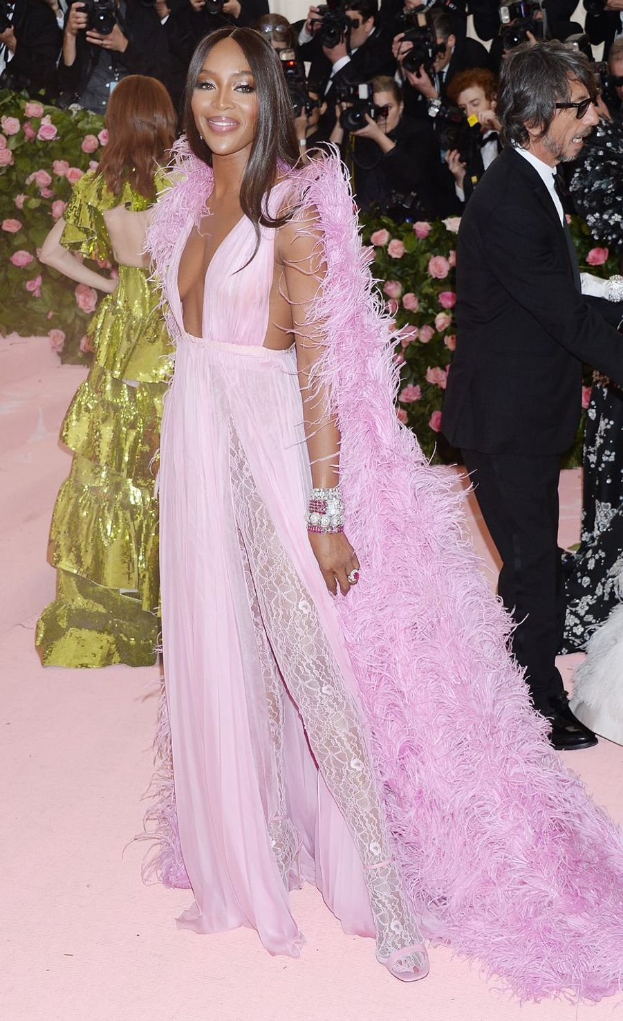 Naomi Campbellau MET Gala à New York le 6 mai 2019