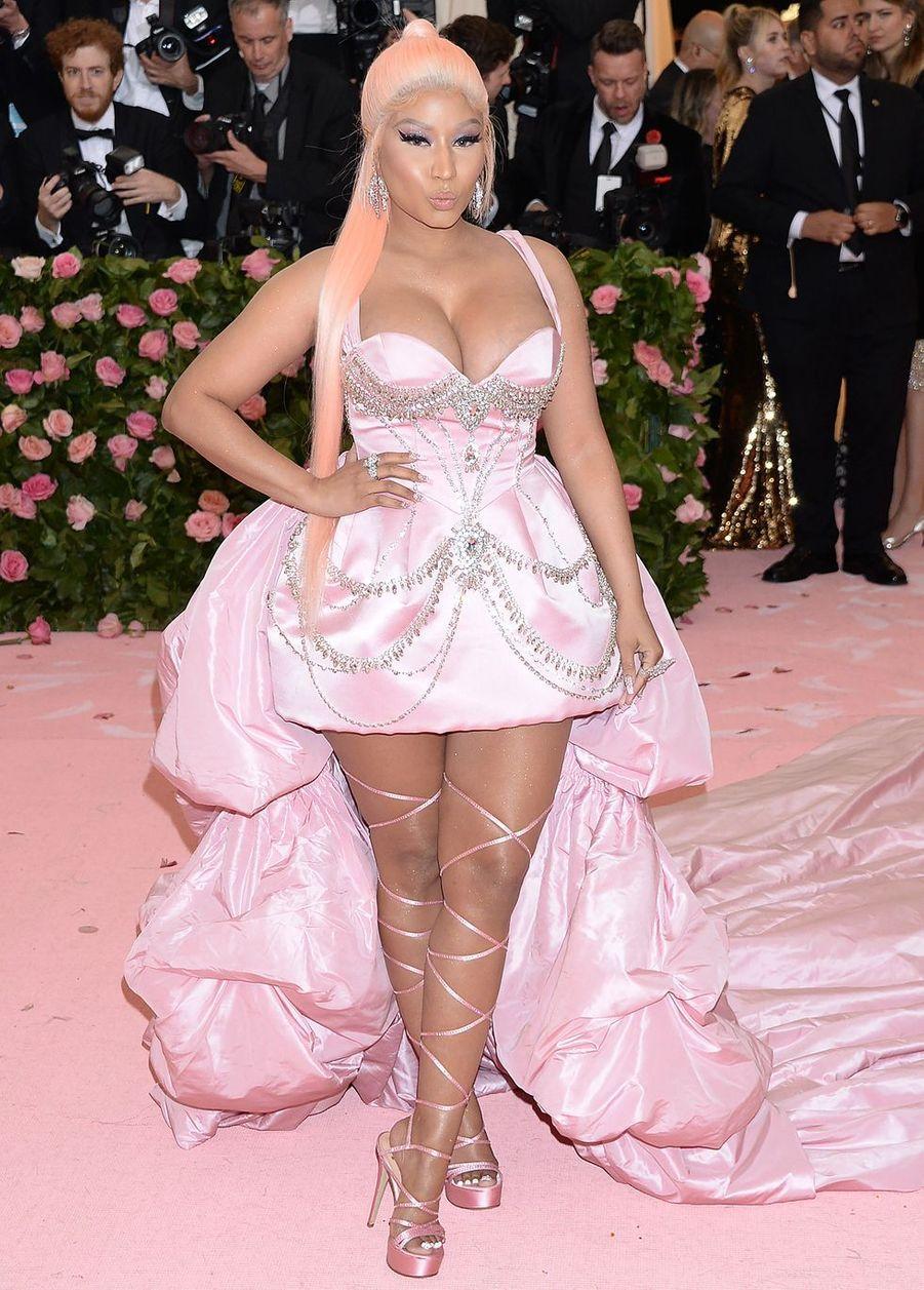 Nicki Minajau MET Gala à New York le 6 mai 2019
