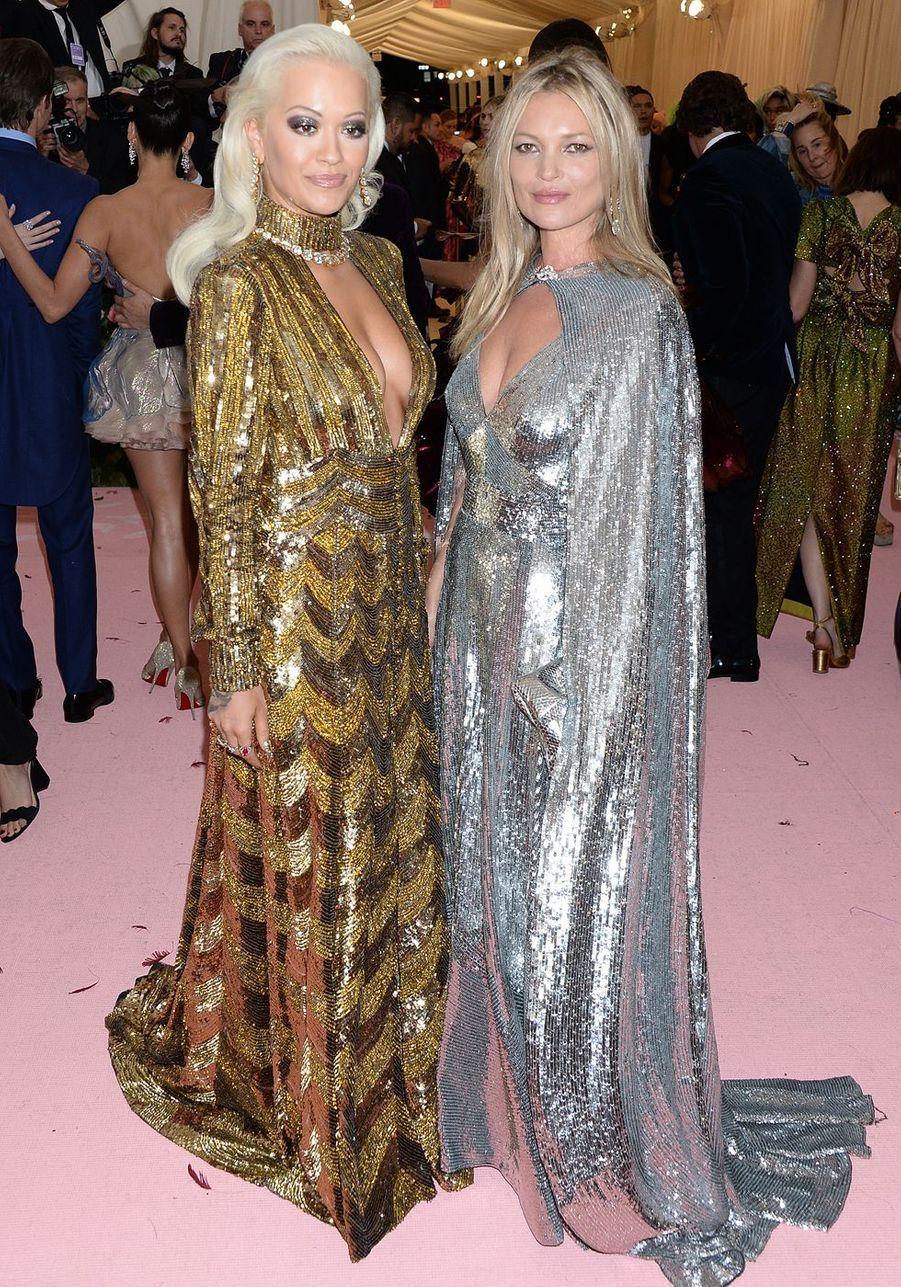 Rita Ora et Kate Mossau MET Gala à New York le 6 mai 2019