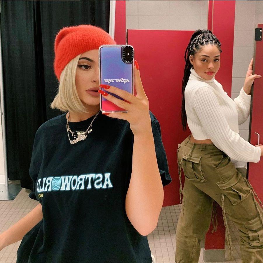 Kylie Jenner et Jordyn Woods, le 9 décembre 2018